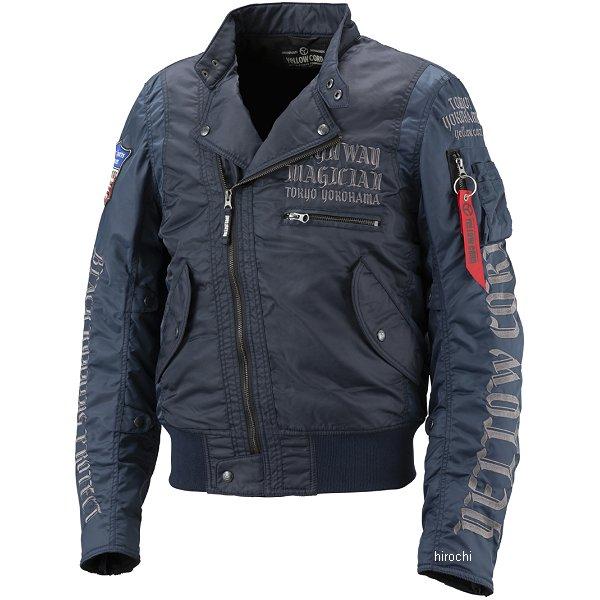 イエローコーン YeLLOW CORN 2018年秋冬モデル ウインタージャケット ネイビー Lサイズ YB-8301 JP店