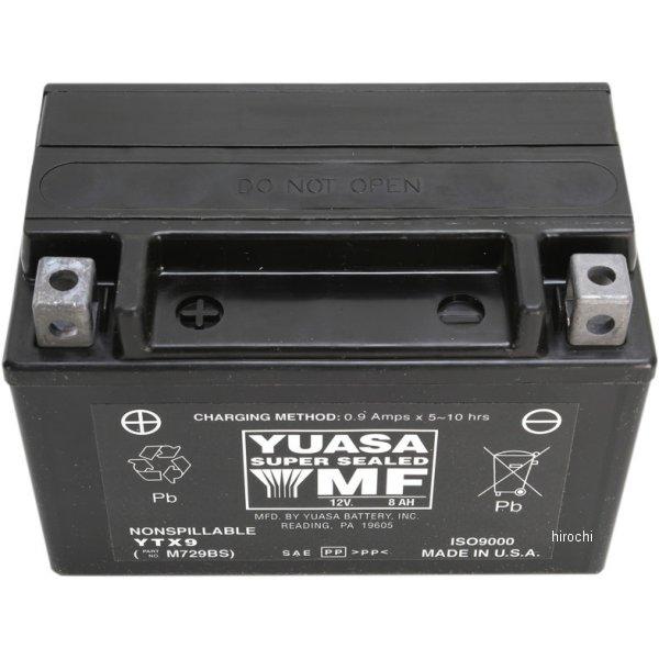 人気新品 【USA在庫あり ユアサ】 2113-0491 ユアサ YUASA バッテリー バッテリー 密閉型 12V YTX9 2113-0491 JP店, ステップ:17269730 --- hortafacil.dominiotemporario.com
