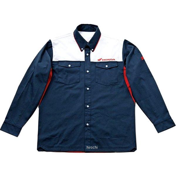 ホンダ純正 秋冬モデル Honda ピットシャツLS トリコロール LLサイズ 0SYTU-Y5P-H JP店