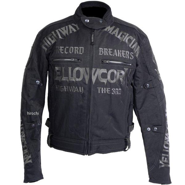 イエローコーン YeLLOW CORN 2018年秋冬モデル ウインタージャケット 黒/ガンメタル Mサイズ YB-8305 JP店