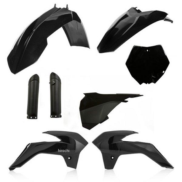 【USA在庫あり】 アチェルビス ACERBIS 外装キット フルセット 13年-17年 KTM 85SX 黒 730189 JP店