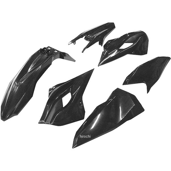 【USA在庫あり】 アチェルビス ACERBIS 外装セット 14年-16年 Husqvarna FE250 黒 730066 JP店