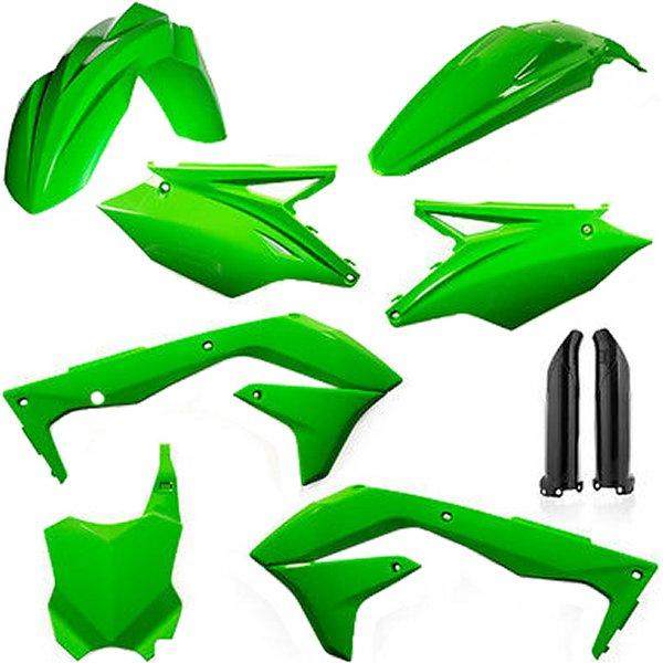 【USA在庫あり】 アチェルビス ACERBIS 外装キット フルセット 16年-17年 KX450F 蛍光グリーン 731386 JP店