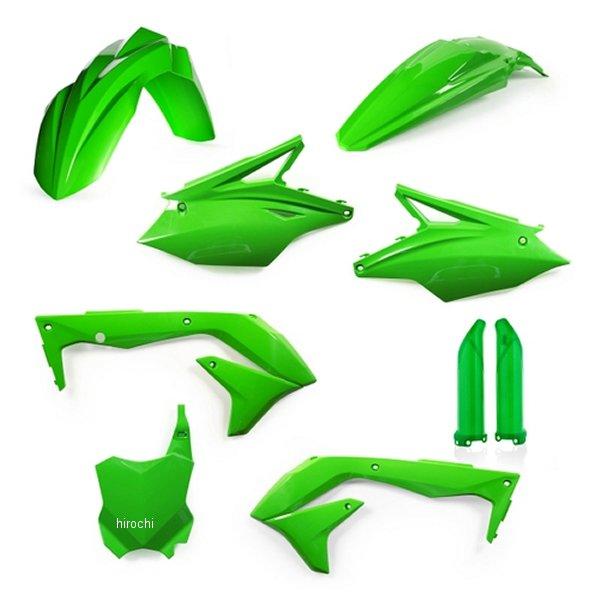 【USA在庫あり】 アチェルビス ACERBIS 外装キット フルセット 18年以降 KX450F グリーン 732116 JP店