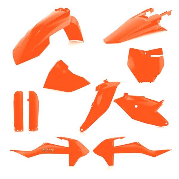 【USA在庫あり】 アチェルビス ACERBIS 外装キット フルセット 18年以降 KTM 85SX 蛍光オレンジ 732129 JP店