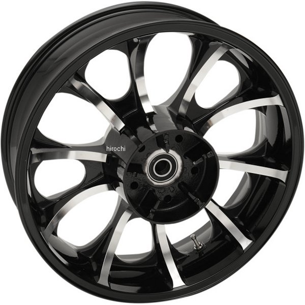 【USA在庫あり】 Coastal Moto リアホイール 18x5.5 ラルゴ 08年以降 FLH ABS付 黒 0202-2105 JP店