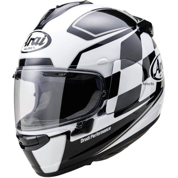 山城×アライ フルフェイスヘルメット VECTOR-X フィニッシュ 白 Lサイズ(59cm-60cm) 4530935501946 JP店
