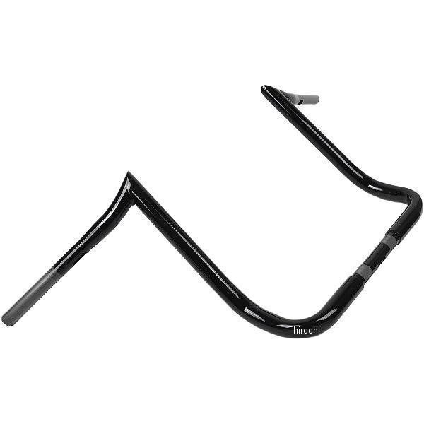 【USA在庫あり】 バイカーズチョイス Biker's Choice ハンドルバー プライムエイプ 16インチ FLH 黒 404407 JP店