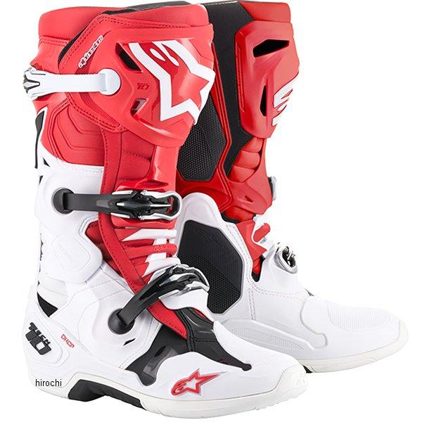 【メーカー在庫あり】 アルパインスターズ テック10ブーツ 赤/白/黒 10サイズ 29.0cm 2010019-321-10 JP店