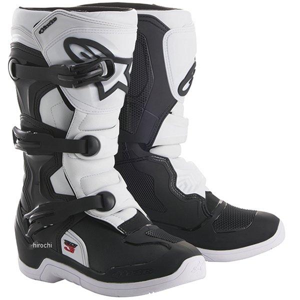 2014518-125-10 アルパインスターズ ブーツ テック3S キッズ用 黒/白 10サイズ 17.5cm 2014518-12-10 JP店