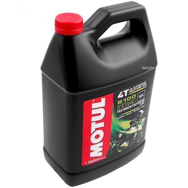 (Motul) 3081 GAA MOTUL 5100 10W40 4T BLEND 4 stroke engine oil 1 Gallon = (about 3.8 liters) 1