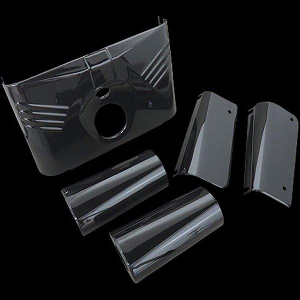 【メーカー在庫あり】 ネオファクトリー ブラックフォークカバーキット&スライダーカバー 86y-FLST 013650 JP店