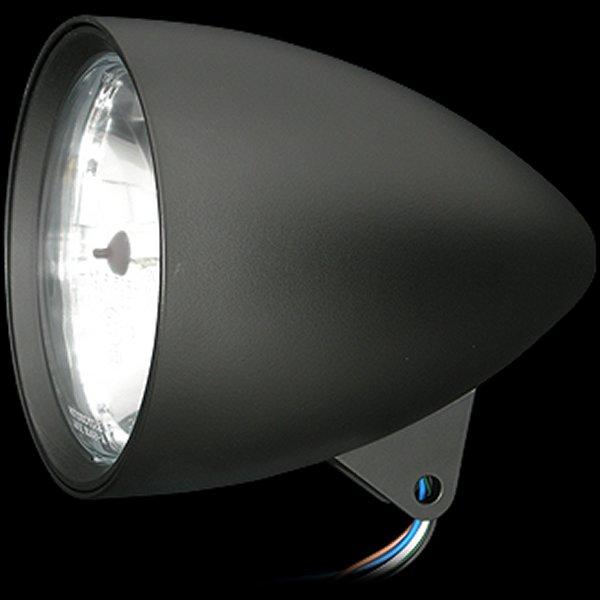 【メーカー在庫あり】 ネオファクトリー 5-3/4in バレットヘッドライト ブラック 010787 JP店