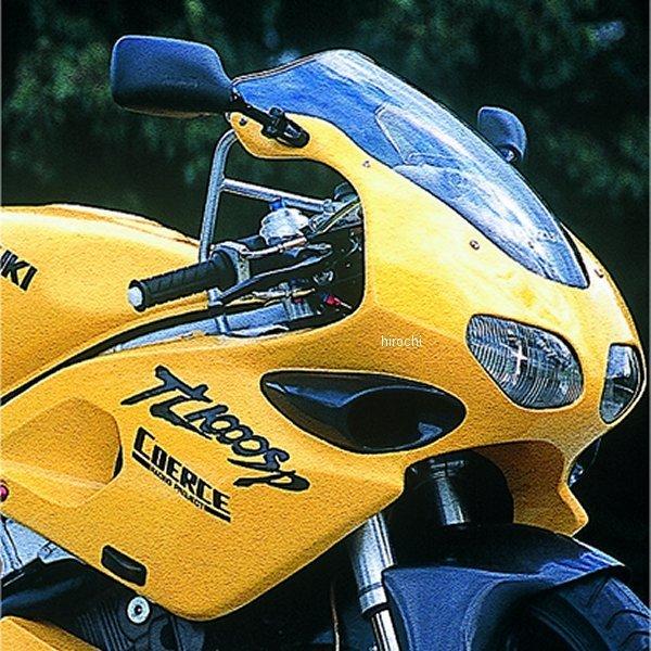 コワース COERCE RSアッパーカウル ダクトカーボン 97年-00年 TL1000S FRP 白ゲル 0-42-CBWD3103 JP店