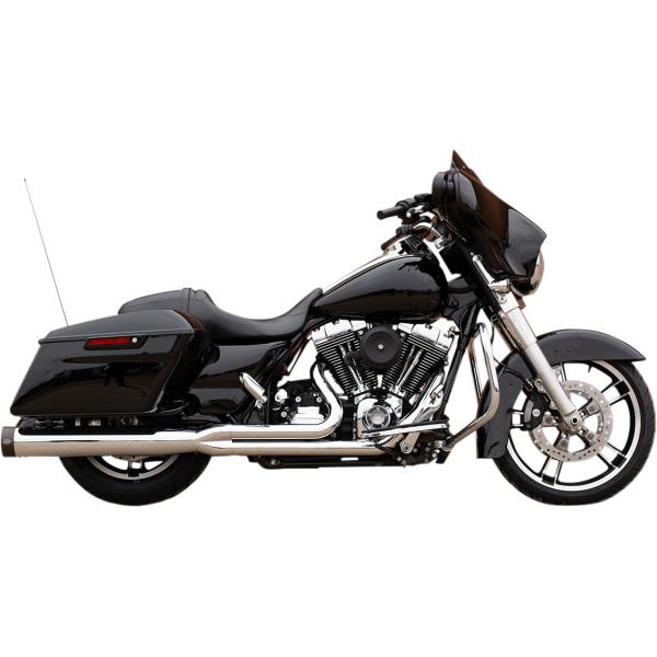 【USA在庫あり】 S&Sサイクル S&S Cycle フルエキゾースト 2-1 95年-07年 FL クローム/黒 1800-2389 JP店