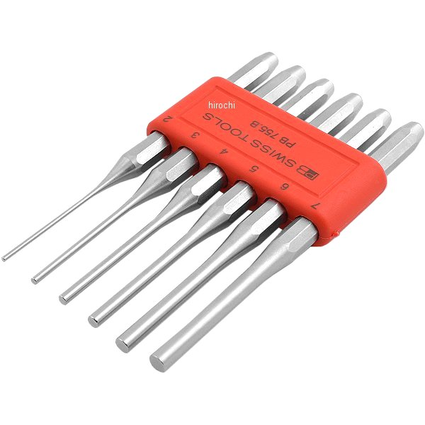 【メーカー在庫あり】 スイスツールズ PB Swiss Tools 平行ピンポンチセット パックナシ() 755BL JP店