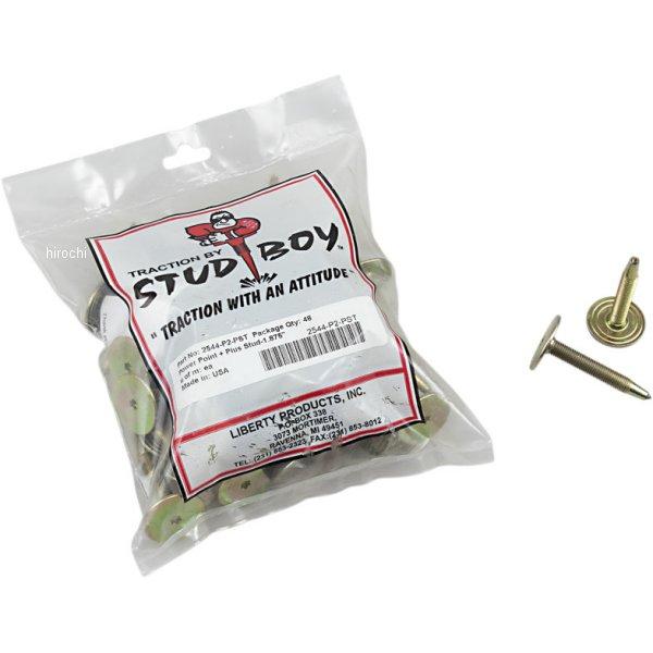 【USA在庫あり】 スタッドボーイ Stud Boy パワーポイント プラス スタッド 1.875インチ (48個入り) 1250-0496 JP店