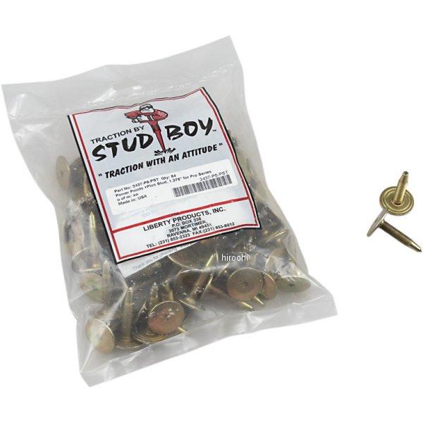 【USA在庫あり】 スタッドボーイ Stud Boy パワーポイント プラス スタッド 1.375インチ (84個入り) 1250-0506 JP店