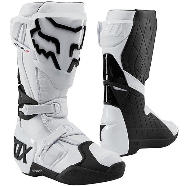 【メーカー在庫あり】 フォックス FOX ブーツ コンプ-R 白 10サイズ 27.0cm 22959-008-10 JP店