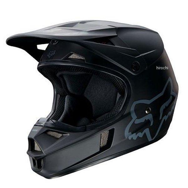 【メーカー在庫あり】 フォックス FOX オフロードヘルメット V1 ユース用 マット用 黒 YMサイズ (49cm-50cm) 16455-255-M JP店