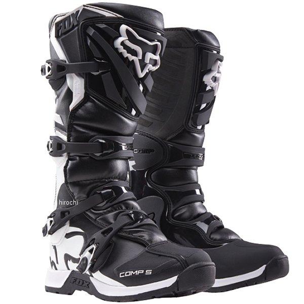 【メーカー在庫あり】 フォックス FOX ブーツ コンプ5 ユース用 黒 Y3サイズ 22.5cm 16449-001-03 JP店