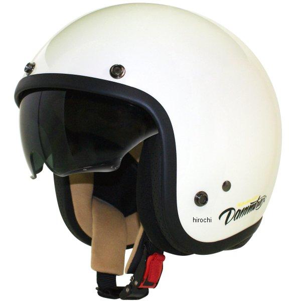 メーカー在庫あり ダムトラックス DAMMTRAX 新作アイテム毎日更新 ジェットヘルメット AIR MATERIAL 56cm-57cm 4560185906710 レディース 特別セール品 JP店 オフホワイト