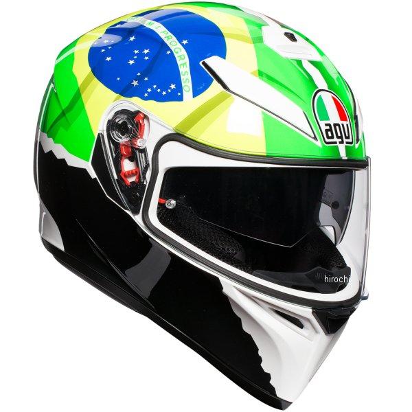 【メーカー在庫あり】 030191E0-007-S エージーブイ AGV フルフェイスヘルメット K-3 SV JIST レプリカ MORBIDELLI2017 アジアフィット Sサイズ(55-56cm) 030191E0007-S JP店