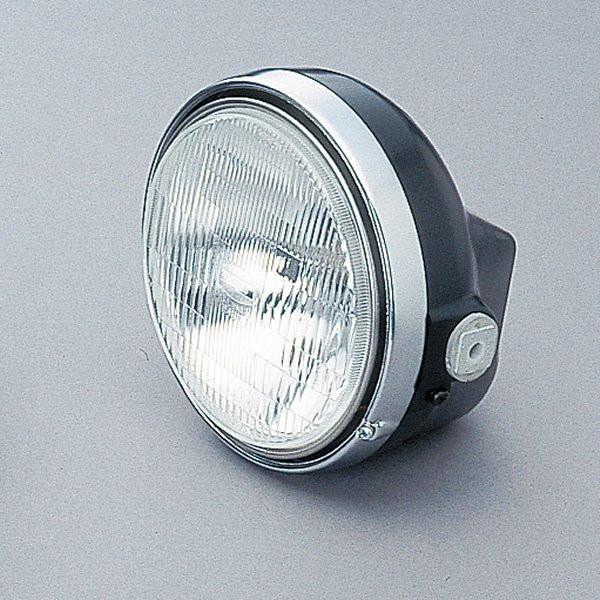 デイトナ ヘッドライトキット Mサイズ(レンズ径φ153) 黒/クローム H4 22713 JP店