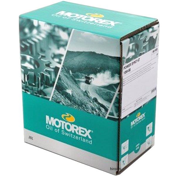 【メーカー在庫あり】 モトレックス MOTOREX エンジンオイル パワーシンセティック 4T 10W60 20L 97870 JP店