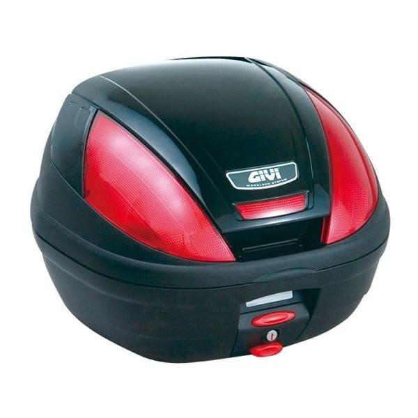 【メーカー在庫あり】 ジビ GIVI モノロックケース 黒塗装 (E370シリーズ) 68050 JP店