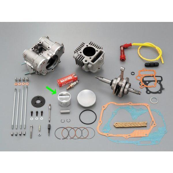 【メーカー在庫あり】 デイトナ DOHC 補修部品 鍛造ピストン 単体 54mm DOHCヘッド用 汎用 69669 JP店