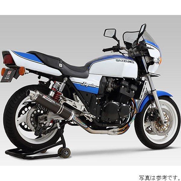 ヨシムラ フルエキゾースト 機械曲チタンサイクロン 94年-02年 GSX400 インパルス チタンブルーカバー 110-152-8281B JP店