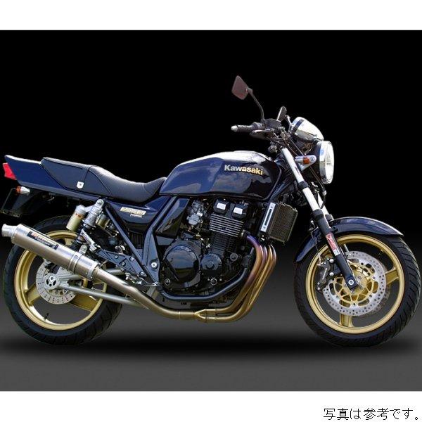 ヨシムラ フルエキゾースト 機械曲チタンサイクロン 94年-08年 ZRX400 チタンブルーカバー 110-232-8284B JP店