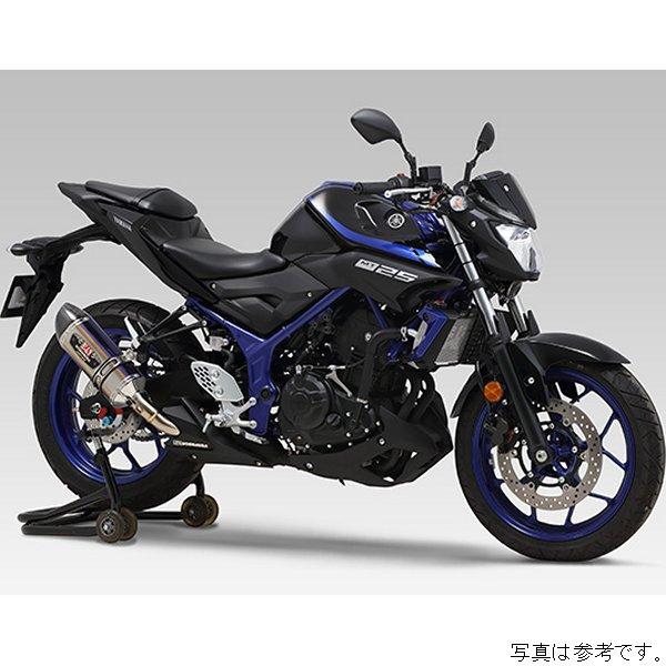 ヨシムラ スリップオンマフラー R-77S サイクロン EXPORT SPEC 15年-18年 YZF-R25 メタルマジック/カーボン 110-346-5W22 JP店