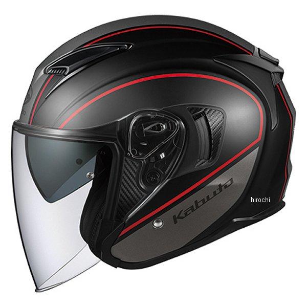 オージーケーカブト OGK KABUT ジェットヘルメット EXCEED DELIE フラットブラックグレー Lサイズ 4966094577193 JP店