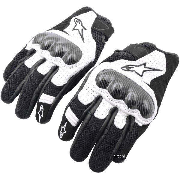 【メーカー在庫あり】 アルパインスターズ Alpinestars 春夏モデル グローブ SMX-1 AIR V2 黒/白 2XLサイズ 8033637060064 JP店