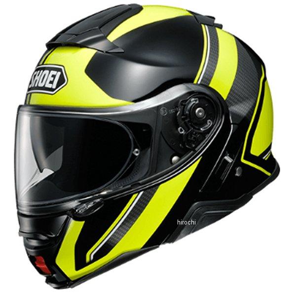 ショウエイ SHOEI システムヘルメット NEOTECII EXCURSION エクスカーション TC-3 黄/黒 XXLサイズ(63cm) 4512048479428 JP店