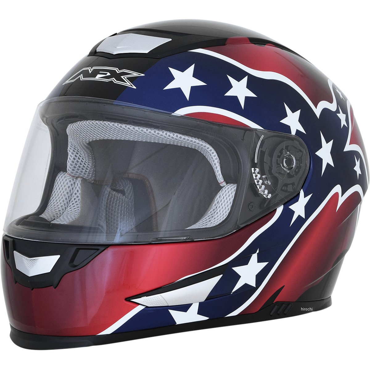 【USA在庫あり】 AFX フルフェイスヘルメット FX-99 黒レベル(つや有り) XXLサイズ (63cm-64cm) 0101-11375 JP店