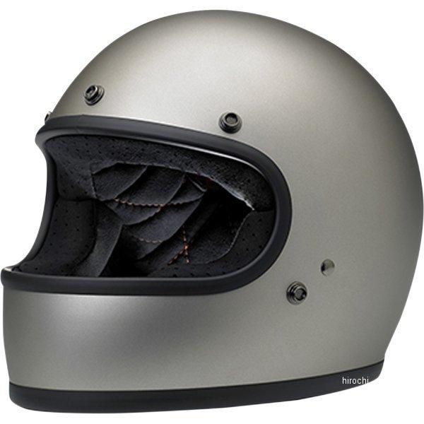 【USA在庫あり】 ビルトウェル Biltwell フルフェイスヘルメット Gringo チタン(つや有り) MD 0101-11428 JP店