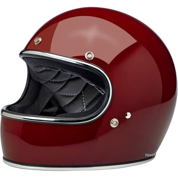 【USA在庫あり】 ビルトウェル Biltwell フルフェイスヘルメット Gringo ガーネット(つや有り) LG 0101-11453 JP店