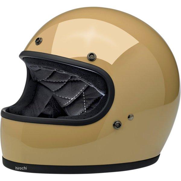 【USA在庫あり】 ビルトウェル Biltwell フルフェイスヘルメット Gringo タン(つや有り) XS 0101-11456 JP店