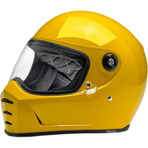【USA在庫あり】 ビルトウェル Biltwell フルフェイスヘルメット Lane Splitter 黄(つや有り) SM 0101-11541 JP店