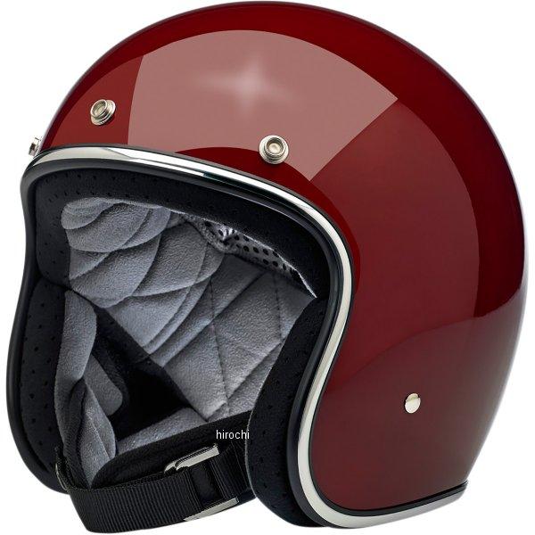 【USA在庫あり】 ビルトウェル Biltwell ジェットヘルメット Bonanza ガーネット(つや有り) SM 0104-2427 JP店
