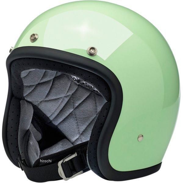 【USA在庫あり】 ビルトウェル Biltwell ジェットヘルメット Bonanza ミント(つや有り) XXL 0104-2443 JP店