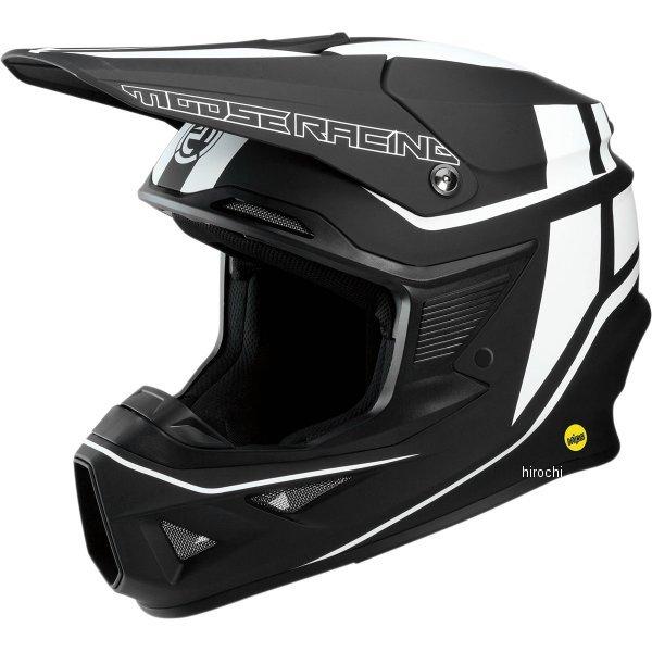 【USA在庫あり】 ムースレーシング MOOSE RACING オフロードヘルメット FI 黒/白 LG 0110-5727 JP店