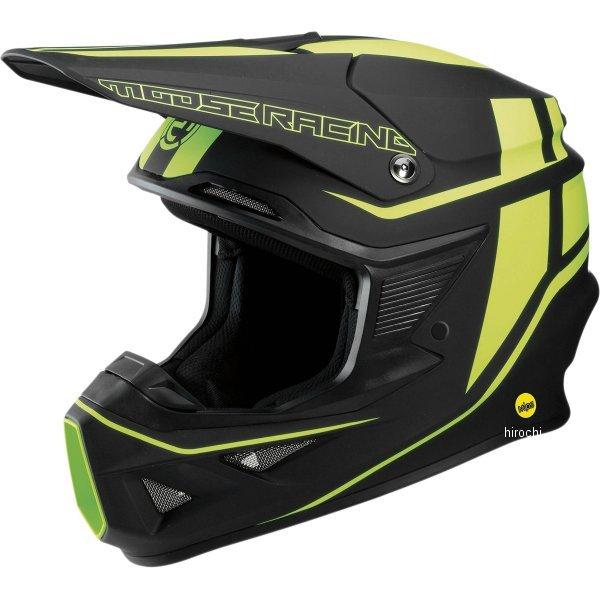 【USA在庫あり】 ムースレーシング MOOSE RACING オフロードヘルメット FI 黒/黄/グリーン XL 0110-5735 JP店