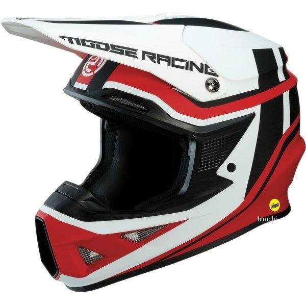 【USA在庫あり】 ムースレーシング MOOSE RACING オフロードヘルメット FI 赤/白 2X 0110-5750 JP店