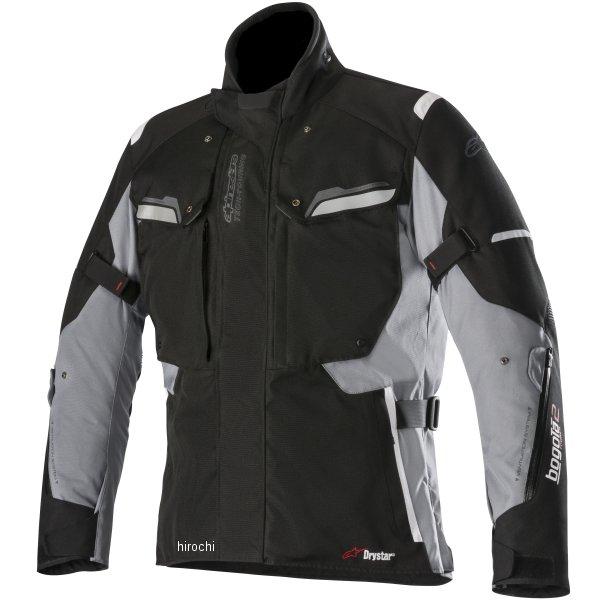 在庫処分  アルパインスターズ 秋冬モデル ジャケット BOGOTA 誕生日プレゼント DRYSTAR JP店 黒 ダークグレー Mサイズ 8033637008851