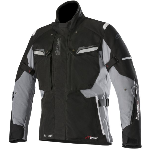 アルパインスターズ 秋冬モデル ジャケット BOGOTA DRYSTAR 黒/ダークグレー XLサイズ 8033637008875 JP店