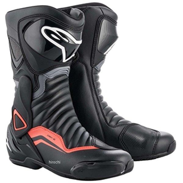アルパインスターズ 春夏モデル ブーツ SMX 6 3017 1130 黒/グレー/レッドフロー 38サイズ 24.0cm 8033637936550 JP店
